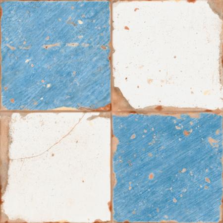 Peronda FS Artistan Damero-A Płytka podłogowa 33x33 cm, niebieska 18244