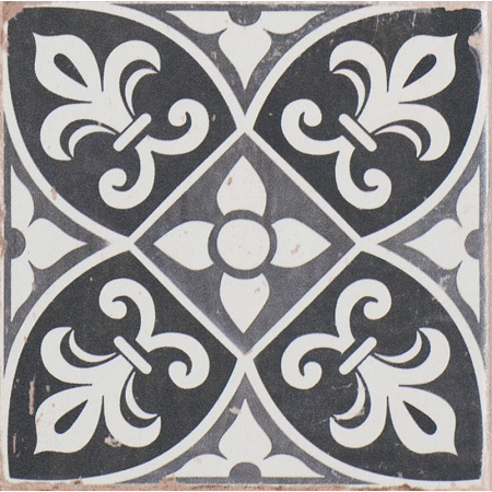 Peronda FS Faenza N Taco Płytka podłogowa 11x11 cm, czarna 13719