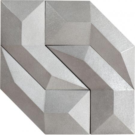 Peronda Gen by Dsignio Silver Płytka podłogowa 30x30 cm, srebrna 14355
