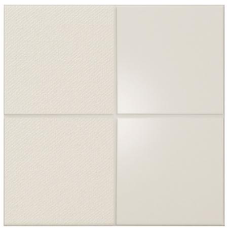 Peronda Iso by Mut Cream Squares Płytka podłogowa 30x30 cm, kremowa 22277
