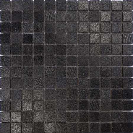 Peronda Nature Harmony Lava Black Mozaika ścienna 30x30 cm, czarna 20893