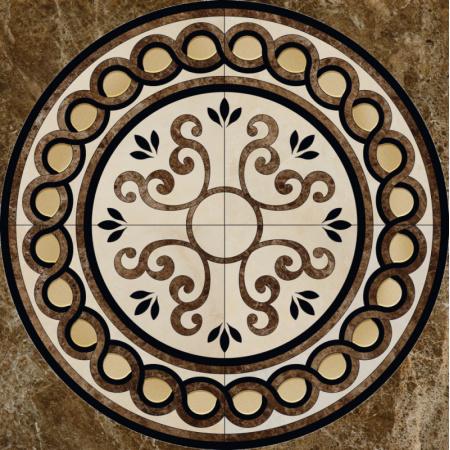 Peronda Persepolis Musa M/P Gres Poler Rozeta podłogowa 120x120 cm, brązowa 13440