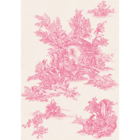 Peronda Provence Avignon R Płytka ścienna 33x47 cm, różowa 12987