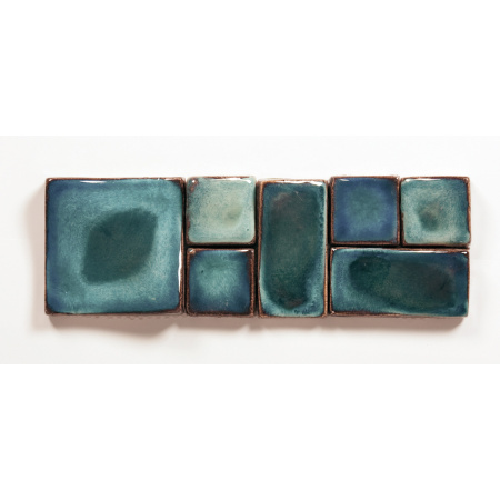 Peronda Shamian-A Płytka ścienna 10x30 cm, niebieska 10540