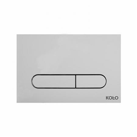 Koło Slim Przycisk uruchamiający do WC, chrom 94183-002
