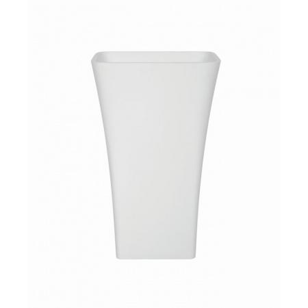 PMD Besco Assos Umywalka wolnostojąca 40x50x85 cm, biała UMD-A-WO