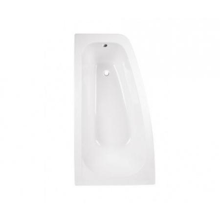 PMD Besco Luna Wanna narożna asymetryczna 150x80 cm lewa, biała WAL-150-NL