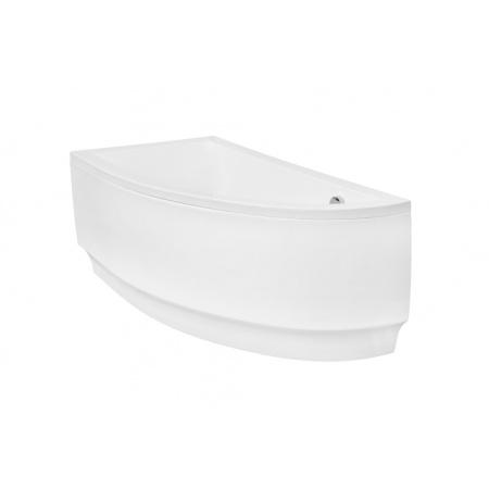 PMD Piramida Besco Praktika Wanna asymetryczna 140x70 cm lewa, biała WAP-140-NL