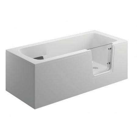 Polimat Avo Wanna prostokątna 160x75 cm, biała 00012