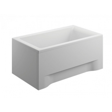 Polimat Capri Wanna prostokątna 100x70 cm, biała 00846