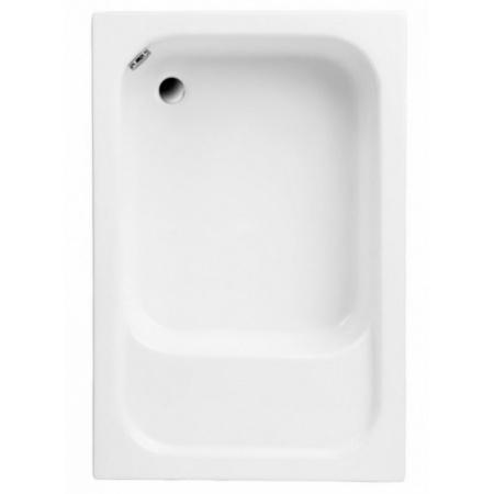 Polimat Roni Brodzik prostokątny 120x80 cm, biały 00683