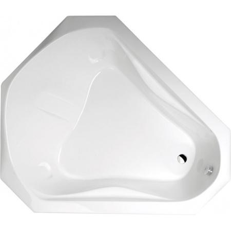 Polysan Samora Wanna ośmiokątna 163x139 cm, biała 75111