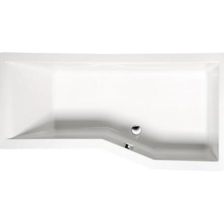 Polysan Versys R Wanna narożna 160x85 cm prawa biała 15611