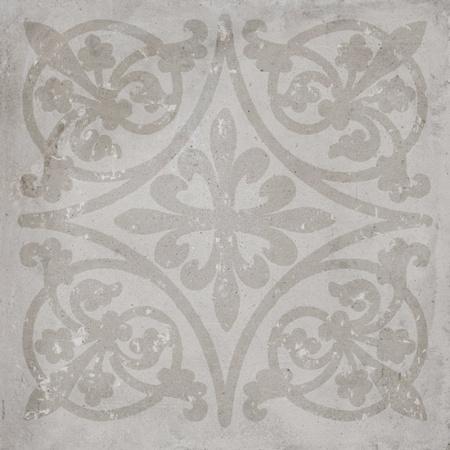 Porcelanosa Tribeca Acero Deco Płytka 80x80 cm, szara PORCTRIACEDECO8080