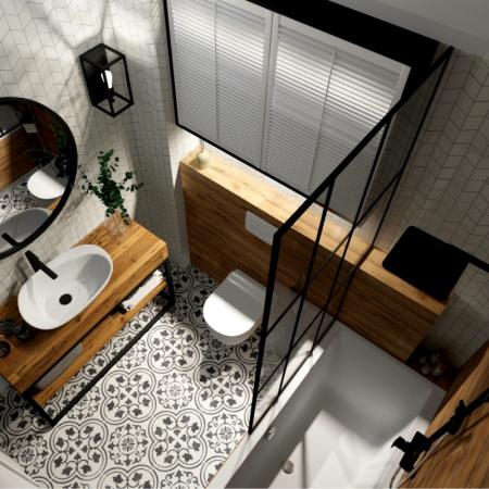 Profesjonalny projekt łazienki - projektowanie łazienek