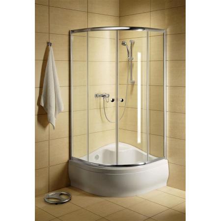 Radaway Classic A Kabina prysznicowa 80x80x170 cm, profile białe, szkło przejrzyste 30011-04-01
