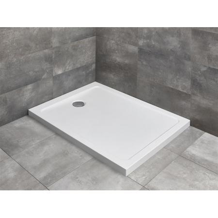 Radaway Doros F Brodzik prostokątny 100x80 cm, biały SDRF1080-01
