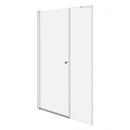 Radaway Eos DWS Drzwi prysznicowe wahadłowe wnękowe 140x197 cm lewe 37993-01-01NL