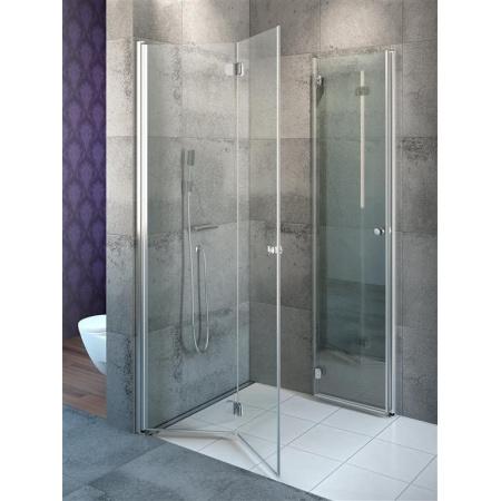 Radaway Eos KDD B Kabina prysznicowa kwadratowa 80x80x197 cm z listwą progową 37313-01-01N