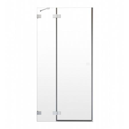 Radaway Essenza Pro White DWJ Drzwi uchylne wnękowe 90x200 cm prawe profile białe szkło przezroczyste 10099090-04-01R