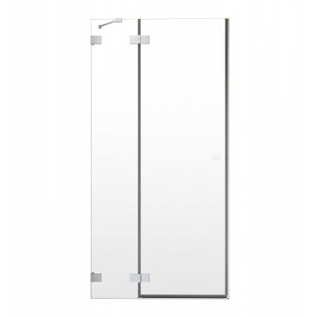 Radaway Essenza Pro White DWJ Drzwi uchylne wnękowe 100x200 cm prawe profile białe szkło przezroczyste 10099100-04-01R