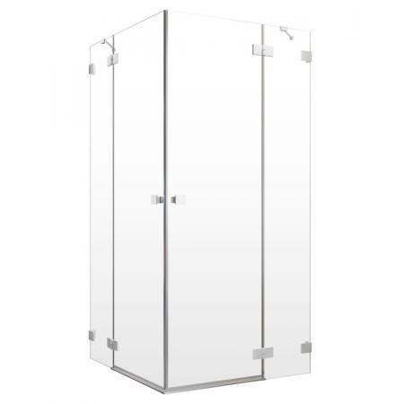 Radaway Essenza Pro White KDD Drzwi uchylne 80x200 cm prawe profile białe szkło przezroczyste 10096080-04-01R