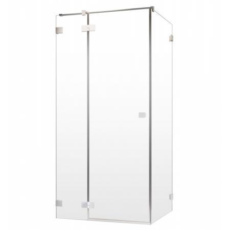 Radaway Essenza Pro White KDJ Drzwi uchylne 100x200 cm prawe profile białe szkło przezroczyste 10097100-04-01R