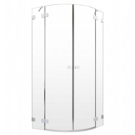 Radaway Essenza Pro White PDD Drzwi uchylne 80x200 cm lewe profile białe szkło przezroczyste 10095080-04-01L