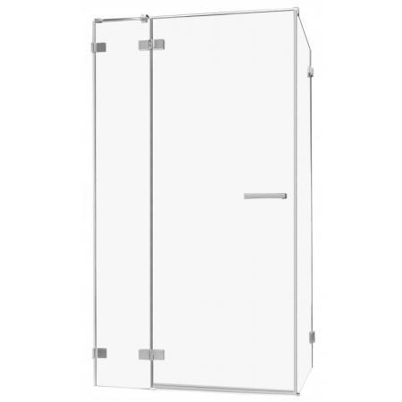 Radaway Euphoria KDJ Drzwi prysznicowe uchylne 80x200 cm ze ścianką stałą prawe 383512-01R+383241-01R