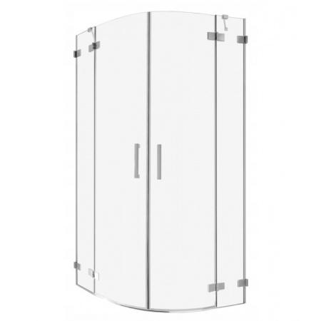 Radaway Euphoria PDD Drzwi prysznicowe uchylne 90x200 cm ze ścianką stałą prawe 383001-01R