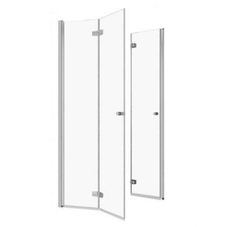 Radaway Fuenta New KDD B Drzwi prysznicowe składane 90x202 cm z listwą progową prawe 384071-01-01R