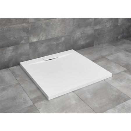 Radaway Giaros C Brodzik kwadratowy 90x90 cm, biały MKGC9090-03