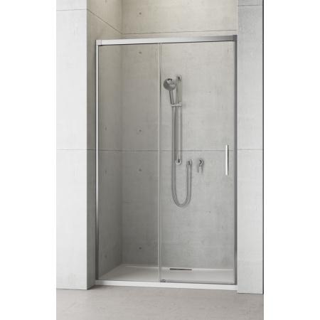 Radaway Idea DWJ 140 Drzwi prysznicowe 140x200 cm, wersja prawa, profile chrom, szkło przejrzyste z powłoką EasyClean 387018-01-01R