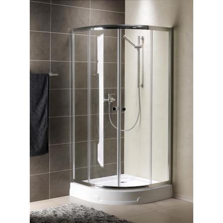 Radaway Premium A Kabina prysznicowa 90x90x170 cm, profile chrom, szkło przejrzyste 30401-01-01