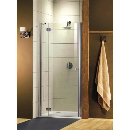 Radaway Torrenta DWJ Drzwi prysznicowe 120x185 cm, profile chrom, szkło przejrzyste z powłoką EasyClean 31930-01-01N
