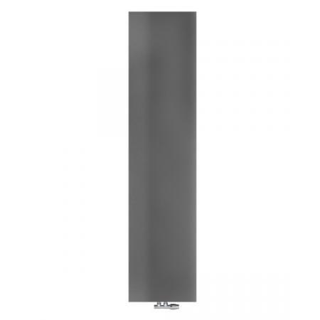 Radox Nova Flat Grzejnik płytowy 180x31 cm soft textured metallic grey RX-NVF.003T.1800.310