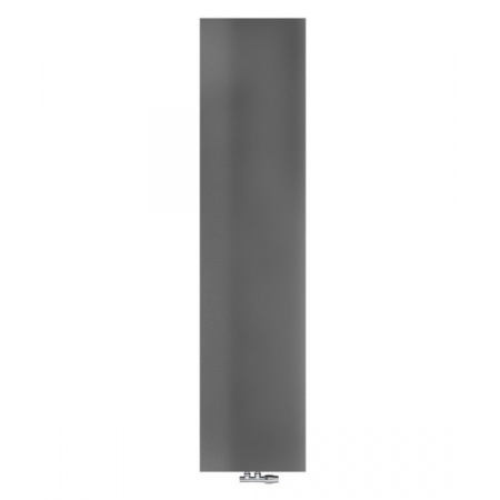 Radox Nova Flat Grzejnik płytowy 180x52 cm soft textured metallic grey RX-NVF.003T.1800.520