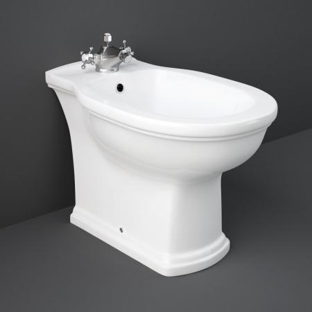 RAK Ceramics Washington Bidet stojący 58x36 cm biały połysk WABI00001