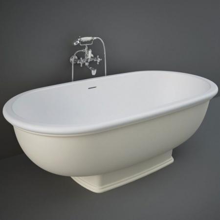 RAK Ceramics Washington Wanna wolnostojąca 156x81 cm beżowy mat WTBT15681505
