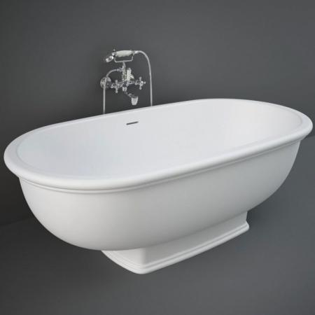 RAK Ceramics Washington Wanna wolnostojąca 156x81 cm biały mat WTBT15681500