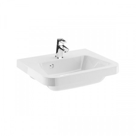 Ravak 10º Umywalka wisząca 55x45x15,5 cm, biała XJI01155000