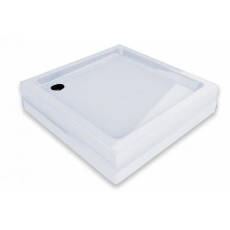 Ravak Kaskada Angela Basic Kompakt 80 Brodzik prostokątny 80x80x16 cm akrylowy, biały GPX2240135