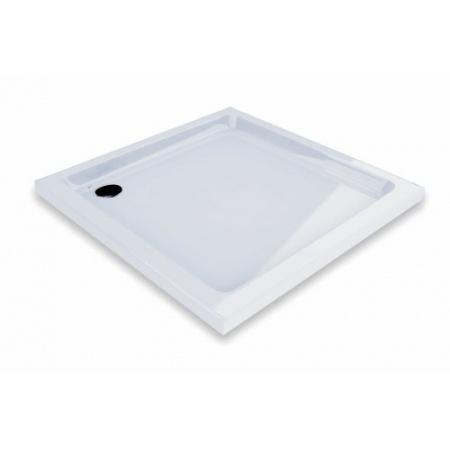 Ravak Kaskada Angela Basic LA 80 Brodzik prostokątny 80x80x9 cm akrylowy, biały GPX2240133
