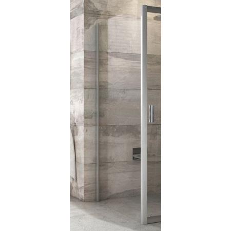 Ravak Blix BLPS-80 Ścianka prysznicowa stała 80x190 cm z powłoką AntiCalc, profile aluminium szkło przezroczyste 9BH40C00Z1