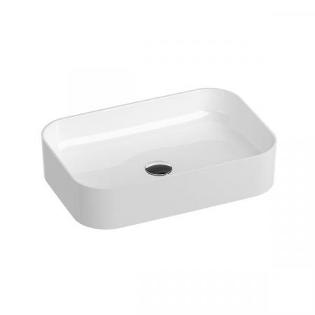 Ravak Ceramic Slim R Umywalka nablatowa 55x37 cm biała XJX01155002