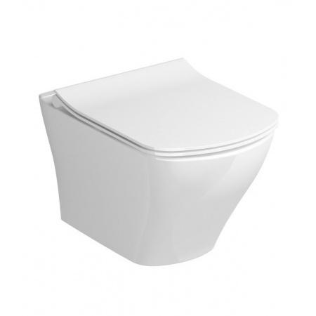 Ravak Classic Toaleta WC podwieszana 51x36,5 cm RimOff bez kołnierza biała X01671
