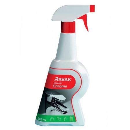 Ravak Cleaner Chrome Środek czystości 500 ml, X01106