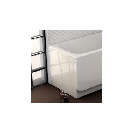 Ravak Inspiration Chrome Panel boczny do wanny prostokątnej 71x56,5 cm, biały CZ74130A00