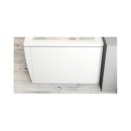 Ravak Inspiration Magnolia Panel boczny do wanny prostokątnej 75x56,5 cm lewy, biały CZ61200A00