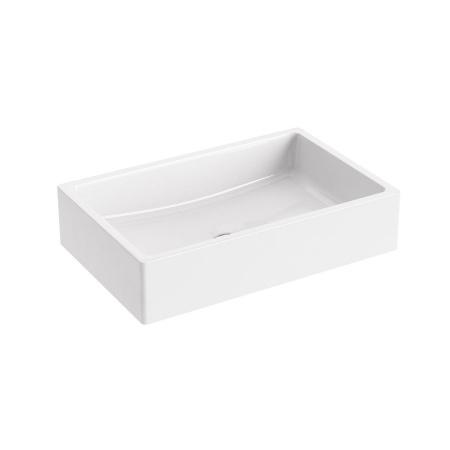 Ravak Formy 01 Umywalka nablatowa 50x39x14 cm, biała XJL01250000